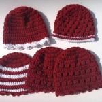 Valentine caps