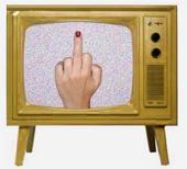 [television finger]
